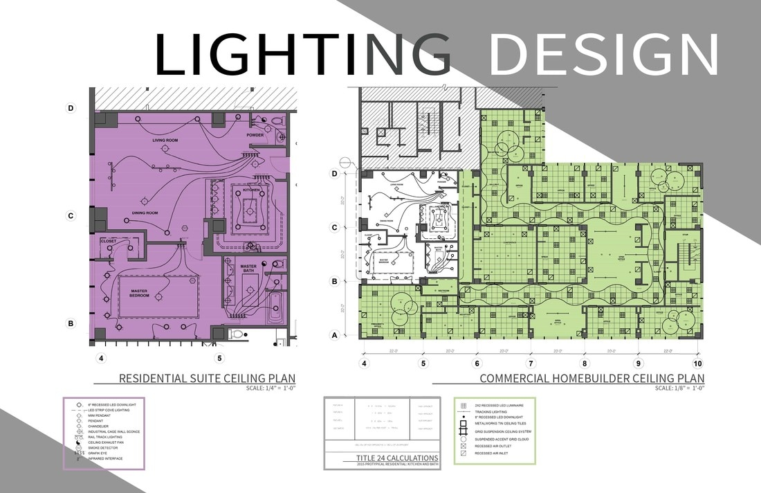 for the electrical, i have implemented modern technology to get the most  out of the lighting design